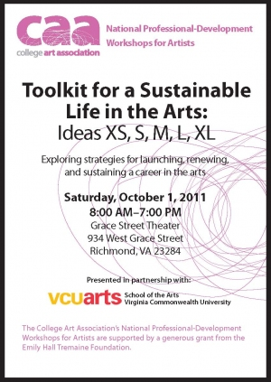 Toolkit for a Sustainable Life in the Arts