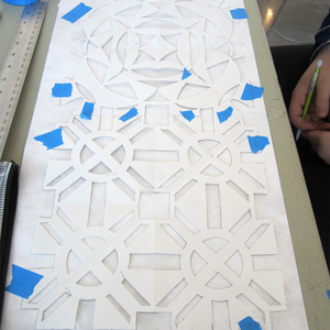 Geometric Aljamia Workshops at Zuckerman Museum of Art